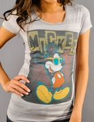 Mickey Mouse Shades Baby Tee