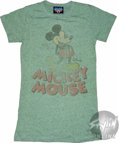 Mickey Mouse Side Baby Tee