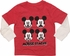 Mickey Mouse Stache Long Sleeve Toddler T-Shirt