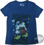 Mickey Mouse Stand Up Baby Tee