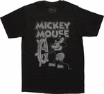 Mickey Mouse Steamboat Willie T Shirt Sheer