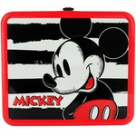 Mickey Mouse Stripes Lunch Box