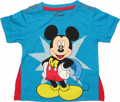 Mickey Mouse Super Mickey Caped Toddler T-Shirt