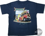Mickey Mouse Surfing T-Shirt