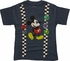 Mickey Mouse Suspenders Pins Toddler T Shirt