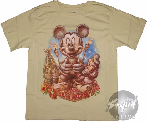 Mickey Mouse Tiki Youth T-Shirt