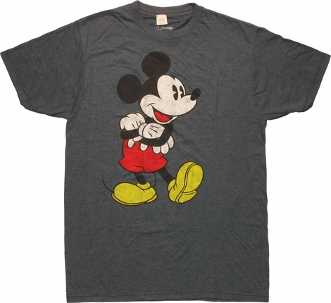 Mickey Mouse Vintage Pose T-Shirt