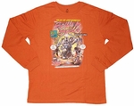 Mickey Spills in Space Long Sleeve T-Shirt