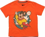 Mighty Mouse Caped Juvenile T Shirt