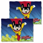 Mighty Mouse City Watch FB Pillow Case