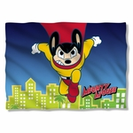Mighty Mouse City Watch Pillow Case