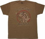 Mighty Mouse Pick Up Artist T Shirt Sheer