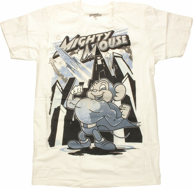 Mighty Mouse Rocket T-Shirt Sheer