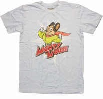 Mighty Mouse Scarf T-Shirt Sheer