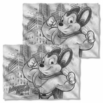 Mighty Mouse Sketch FB Pillow Case