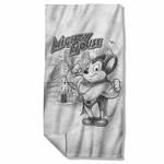 Mighty Mouse Sketch Towel