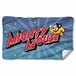 Mighty Mouse Space Hero Fleece Blanket