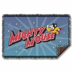 Mighty Mouse Space Hero Throw Blanket