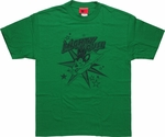 Mighty Mouse Stars T-Shirt