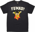 Mighty Mouse Y U Mad T Shirt