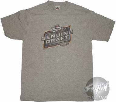 Miller Genuine Draft Logo T-Shirt