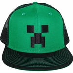 Minecraft Creeper Mesh Premium Hat