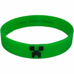 Minecraft Creeper Rubber Wristband