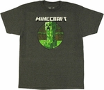 Minecraft Retro Creeper T Shirt