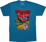 Minecraft Sam Cube Battle T-Shirt