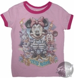 Minnie Girls T-Shirt