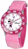 Minnie Mouse Kids Time Teacher Pink Watch