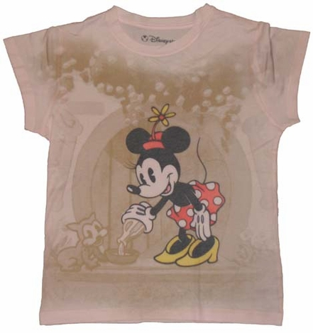Minnie Mouse Sublimated Ladies Tee