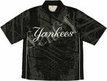 MLB New York Yankees Snap Button Shirt