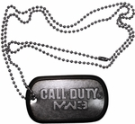 Modern Warfare 3 Embossed Dog Tag