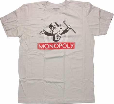 Monopoly Logo T-Shirt Sheer
