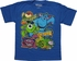 Monsters Inc Glow Games Youth T Shirt