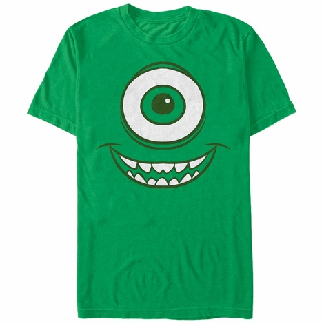 Monsters Inc Mike Face T-Shirt