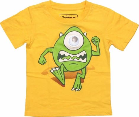 Monsters Inc Mike Googly Eye Toddler T-Shirt