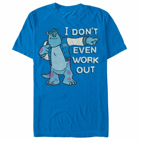 Monsters Inc No Work Out T-Shirt