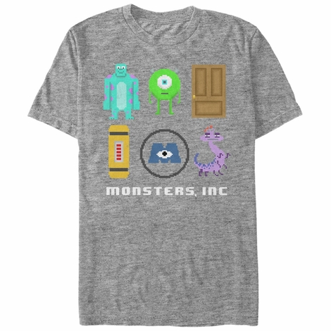 Monsters Inc Pixel Squad T-Shirt