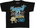 Monsters Inc Scare Care Black Juvenile T Shirt