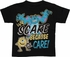 Monsters Inc Scare Care Black Toddler T Shirt