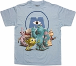 Monsters Inc Scare Group Youth T Shirt