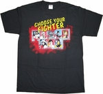 Mortal Kombat Choose Fighter T Shirt