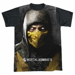 Mortal Kombat Finish Him Sublimated T Shirt
