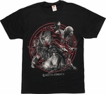 Mortal Kombat X Circle Montage T-Shirt