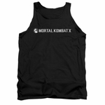 Mortal Kombat X Horizontal Logo Tank Top