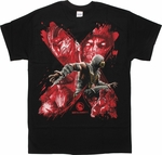 Mortal Kombat X Scorpion Brushed Group T-Shirt