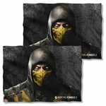 Mortal Kombat X Scorpion FB Pillow Case