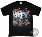 Motley Crue Girls Cover T-Shirt